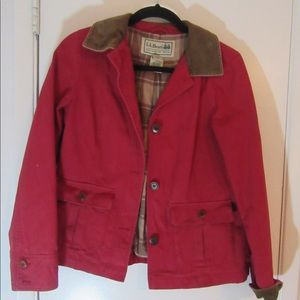 L.L. Bean Rusty Red jacket
